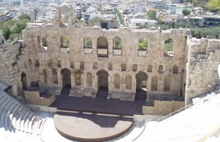 Athenes theatre